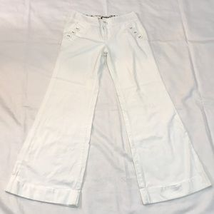 Rampage white wide leg pants